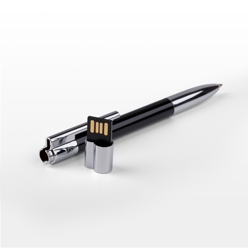 28/11/2018 - Ручка-флешка с символикой компании