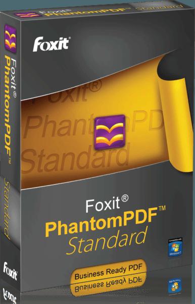 Foxit PhantomPDF Standard 9 RUS Full (1-9 users)