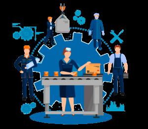 ERP управление производством