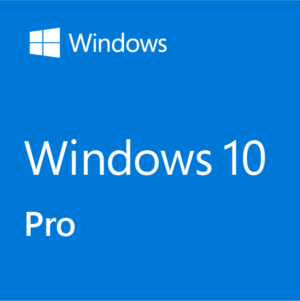Microsoft Windows 10 Professional (Win Pro 10 32-bit/64-bit All Lng PK Lic Online DwnLd NR)